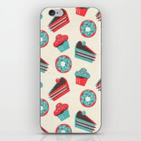 happy birthday iPhone & iPod Skins featuring happy birthday  by marella