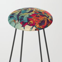 Moving Castle Counter Stool