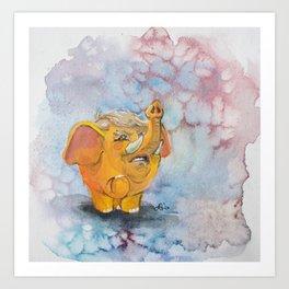 Trumpaphant Art Print