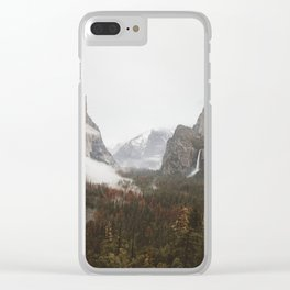 Tunnel View Clear iPhone Case