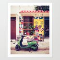 Caribbean Colors Fine Art Print by sidecarphoto