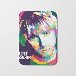 Cobain In Pop Art Bath Mat