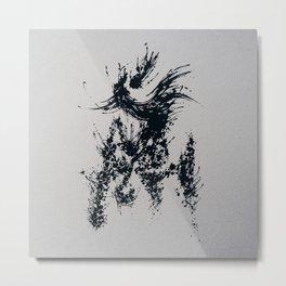 Splaaash Series - Horse Ink Metal Print