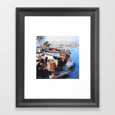 Downtown Cap Haitian Framed Art Print