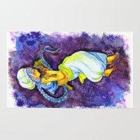 aladdin Area & Throw Rugs featuring Aladdin by Mottinthepot
