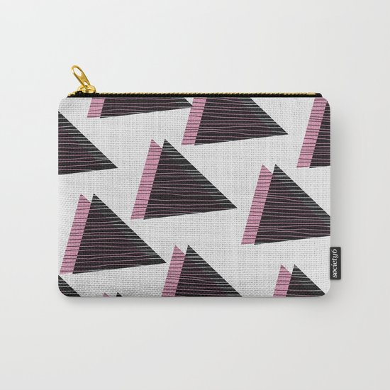 Pink Triangles III Carry-All Pouch