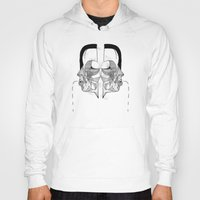 study Hoodies featuring 'Face Study I' by Alex G Griffiths