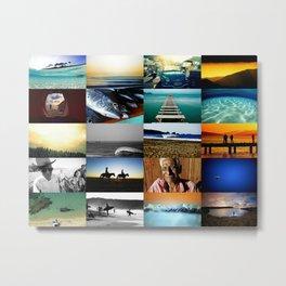 SURF & TRAVEL Metal Print