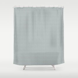 Basket Weave BG mini Shower Curtain