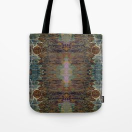 Nebulous Portal Emergence (Electric Gateway) (Reflected) Tote Bag
