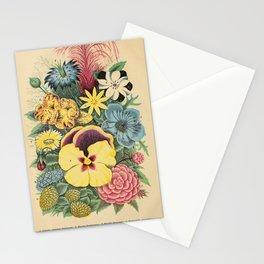 garden 019 celosia  nigella  nemophila  chlora  mimulus  oxura  pansy  myosotis  sanvitalia  portulaca9 Stationery Cards