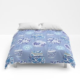 Chinoiserie Ginger Jar Collection No.6 Comforters
