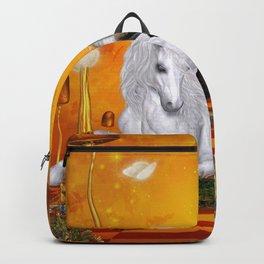 Wonderful unicorn with fairy Backpack