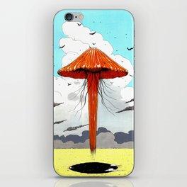 méduse volante #1 iPhone Skin