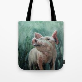 One Bad Pig Tote Bag