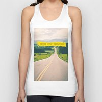 never stop exploring Tank Tops featuring Never stop exploring by Ale Ibanez
