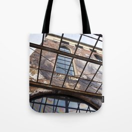 OLD FACTORY BUILDING Tote Bag