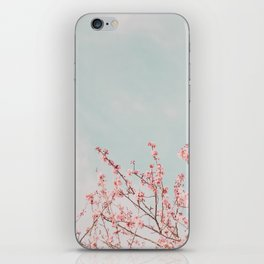 Pink Flowers in the Sky iPhone Skin
