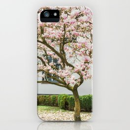 Magnolia Pink Splendor iPhone Case