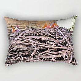 Spring Quartet Rectangular Pillow