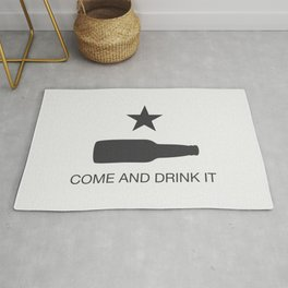 Come And Drink It Rug