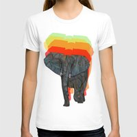 african T-shirts featuring African Elephant by Ben Geiger