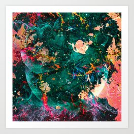 Splace Art Print