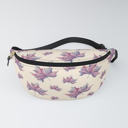 Pastel leaves Fanny Pack