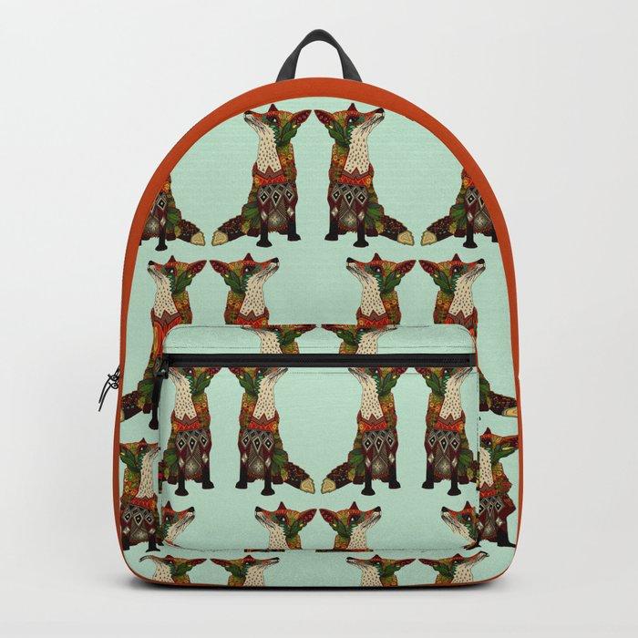 fox love mint Backpack