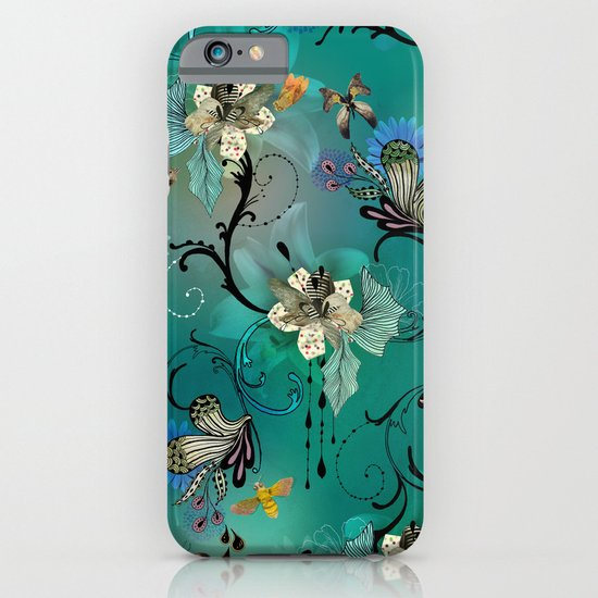 The Butterflies & The Bees  iPhone & iPod Case