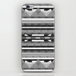 DG Aztec No.2 Monotone iPhone Skin