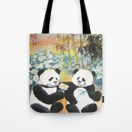 evening love story Tote Bag