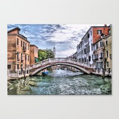 Under The Bridges Of Venice Canvas Print