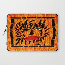 Lion Face Laptop Sleeve