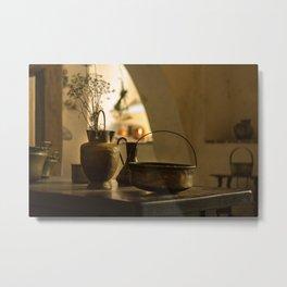 Vintage Kitchen Metal Print