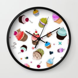 Cupcake Muffin decoration Wall Clock