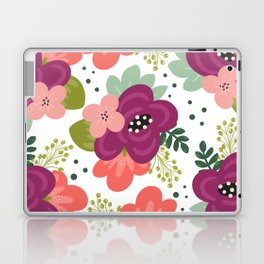 Blooming Florals Laptop & iPad Skin