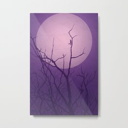 Grasshopper Moon Metal Print