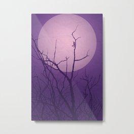 Grasshopper Moon Metal Print