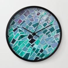 Energy Mosaic Wall Clock