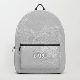 LARU Grey Backpack