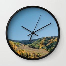 Autumn Valley Wall Clock