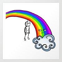Taste the Rainbow? Art Print