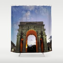 Victory Arch - Genoa Shower Curtain