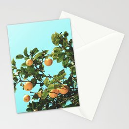 Summer Orange Tree Stationery Cards