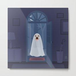 Ghost dog Metal Print