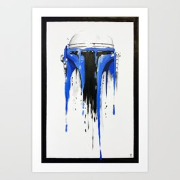 A blue hope 3 Art Print