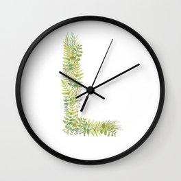Initial L Wall Clock