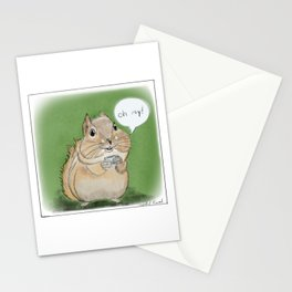 Mrs.Squirrel Stationery Cards