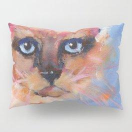 Siamese Sapphire Blue Pillow Sham